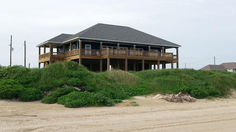 crystal beach, texas vacation beach house rental, Beach House/
